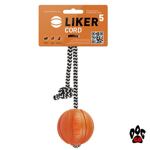 Лайкер игрушка для собак, на веревке COLLAR Корд на шнуре-2