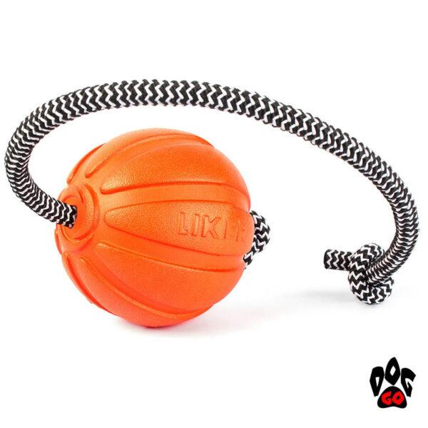Лайкер игрушка для собак, на веревке COLLAR Корд на шнуре-4