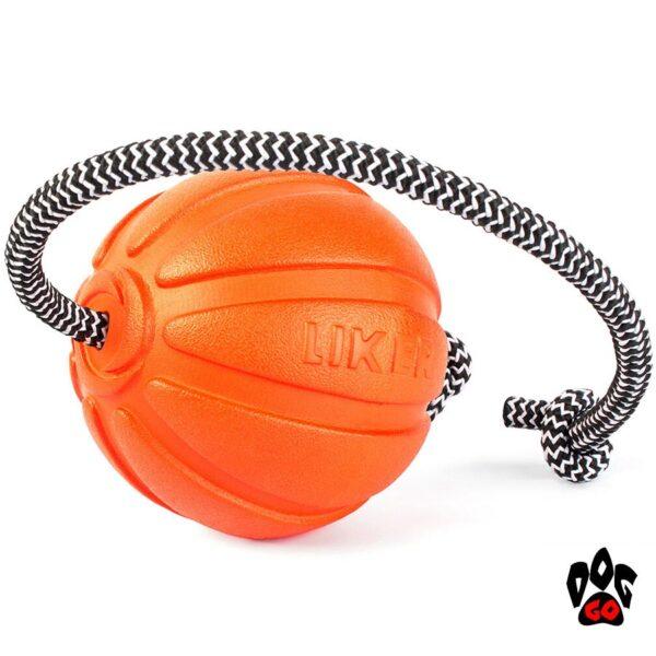 Лайкер игрушка для собак, на веревке COLLAR Корд на шнуре-5