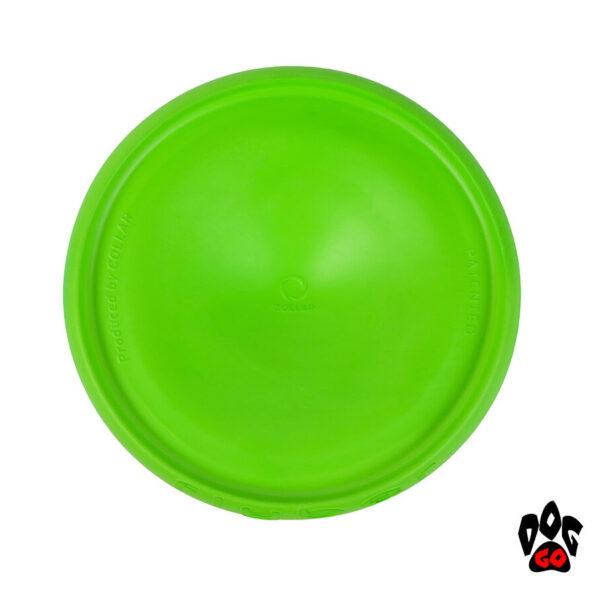 Летающая тарелка для собак COLLAR Флайбер, d22см, салатовый-4