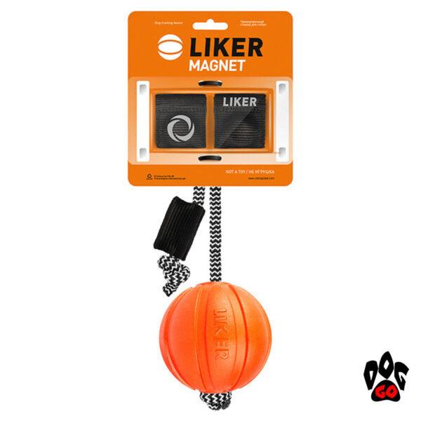 Мяч для дрессировки собак ЛАЙКЕР Магнит COLLAR с комплектом магнитов-1