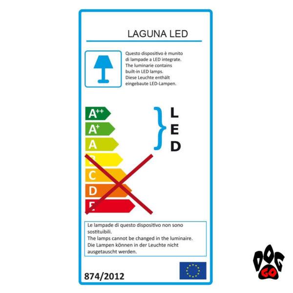 Аквариум 40 литров AMTRA LAGUNA 50 LED, черный (48x27x44.5см) 5 watt 4мм-2