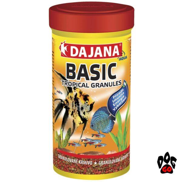 Корм для рыбок гранулы DAJANA Tropi Gran Basic, для всех видов аквариумных рыб-1