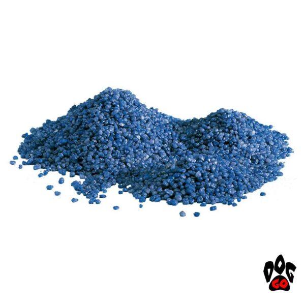 Кварц для аквариума Грунт AMTRA Wave BLU, синий, 4мм, 5кг-1