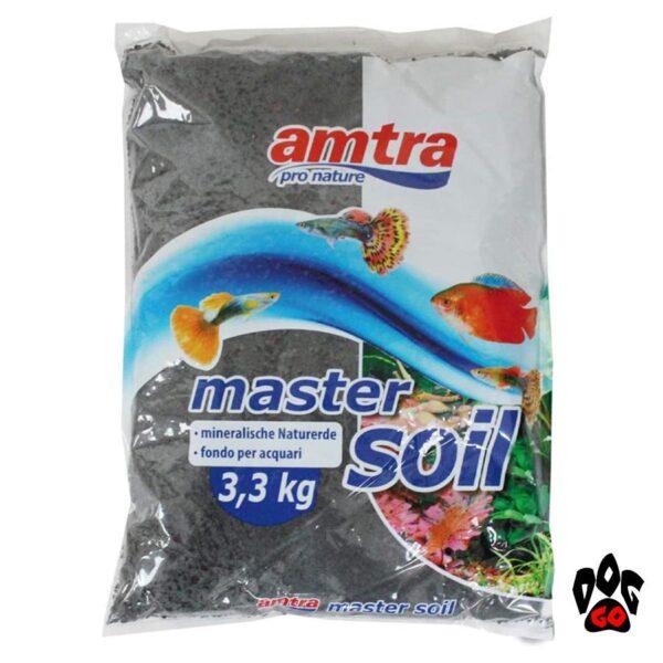 Питательный грунт для аквариума с живыми растениями AMTRA Wave SOIL Black, Brown (черный, коричневый) натуральный речной ил-2