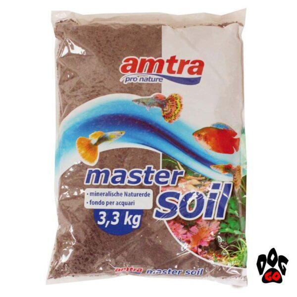 Питательный грунт для аквариума с живыми растениями AMTRA Wave SOIL Black, Brown (черный, коричневый) натуральный речной ил-6