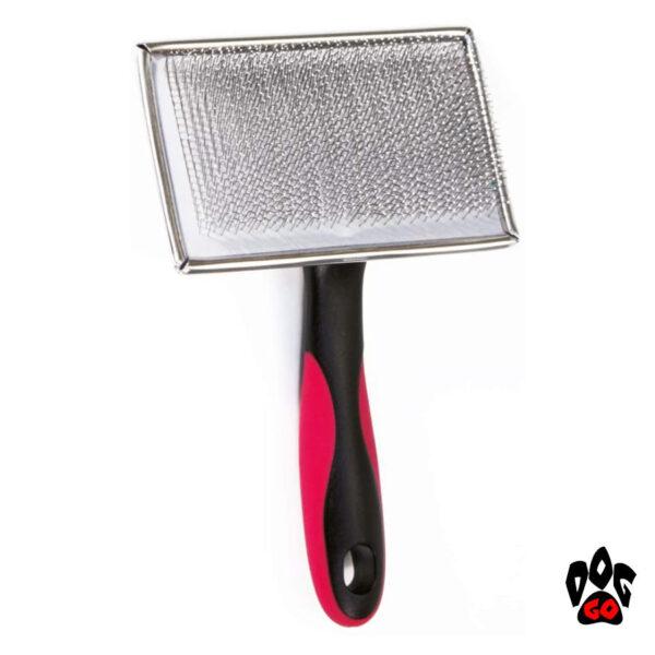 Пуходерка для длинношерстных собак CROCI с каплей, гигантская, 11.2x18см-1