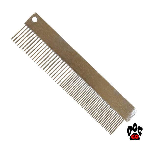 Расческа от колтунов для кошек и собак CROCI, без ручки, металл, 4х15.7см-1