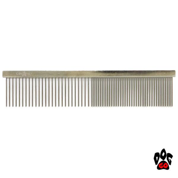 Расческа-гребень для собак CROCI ультрагустая, 4х19см-1