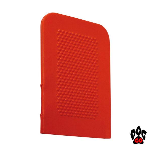 Рукавица для вычесывания собак и кошек CROCI резиновая, 19.5х12см-1